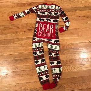 Bear Essentials One Piece Pajama
